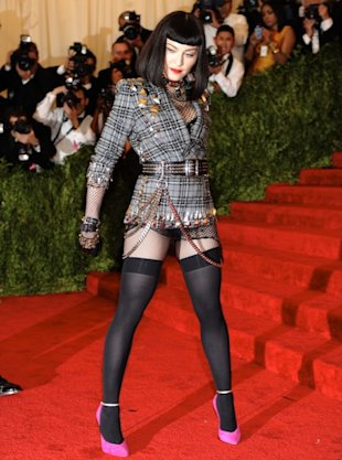Madonna at Costume Institute Gala for the PUNK Chaos to Couture exhibition