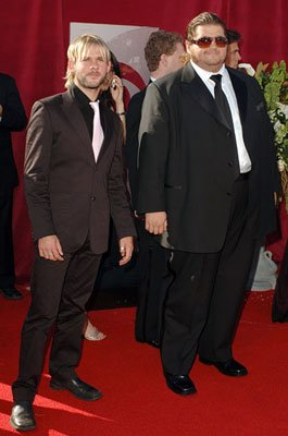 Dominic Monaghan and Jorge Garcia