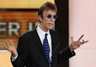 Robin Gibb, singer with the legendary British band the Bee Gees, pictured here in 2010, died on Sunday aged 62 after a lengthy battle against cancer, his family said