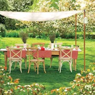 Perk Up a Picnic: Easy Canopy