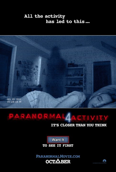 Paranormal Activty 4 Poster