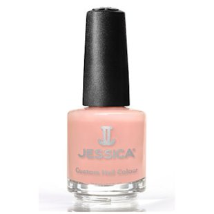 Custom Nail Colour in Blush by Jessica