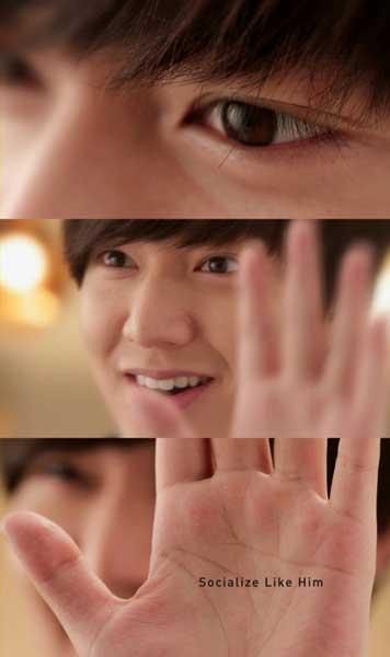See Extreme Close-Ups of Lee Min Ho in New Trugen Monthly Ad
