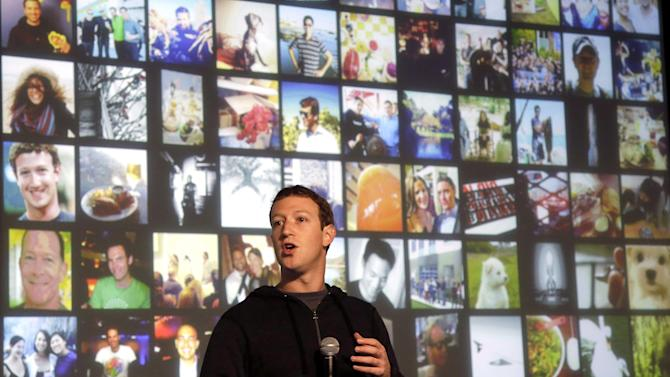 Facebook 4Q results surpass estimates, stock falls