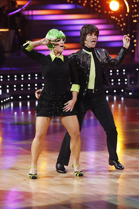 Louis Van Amstel and Kelly Osbourne perform on &quot;Dancing with the Stars.&quot; 
