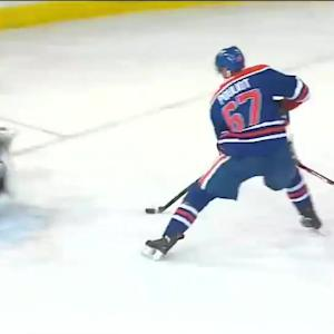 Pouliot uses a silky move to beat Tokarski