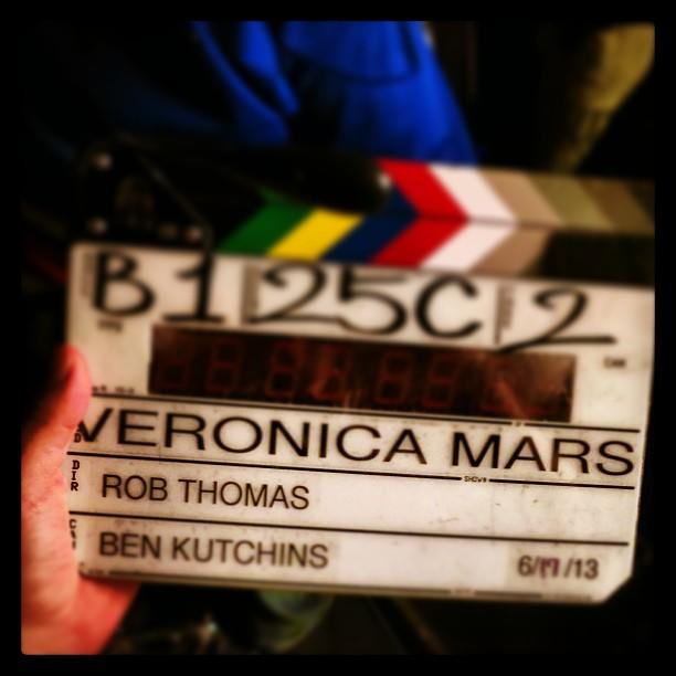 Veronica Mars Movie: Annnnnnnnd.... ACTION. @TheVeronicaMarsMovie has now started shooting!
