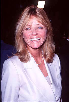 Cheryl Tiegs at the Hollywood premiere of New Line's Boogie Nights