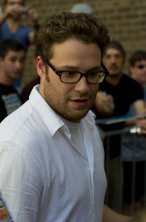 Actor Seth Rogen got married over the weekend to witter Lauren Miller.