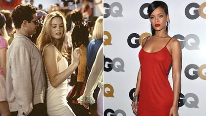 Rihanna Rocks Iconic  'Clueless' Mini Dress
