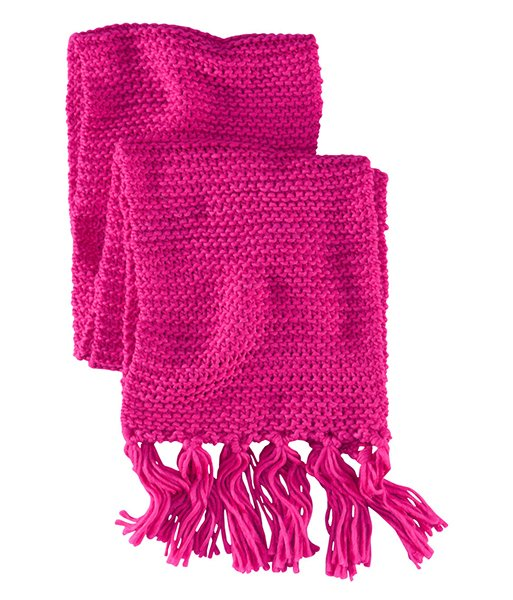Scarf in cerise, $9.95 at hm.com
