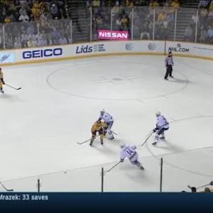 Canucks at Predators / Game Highlights
