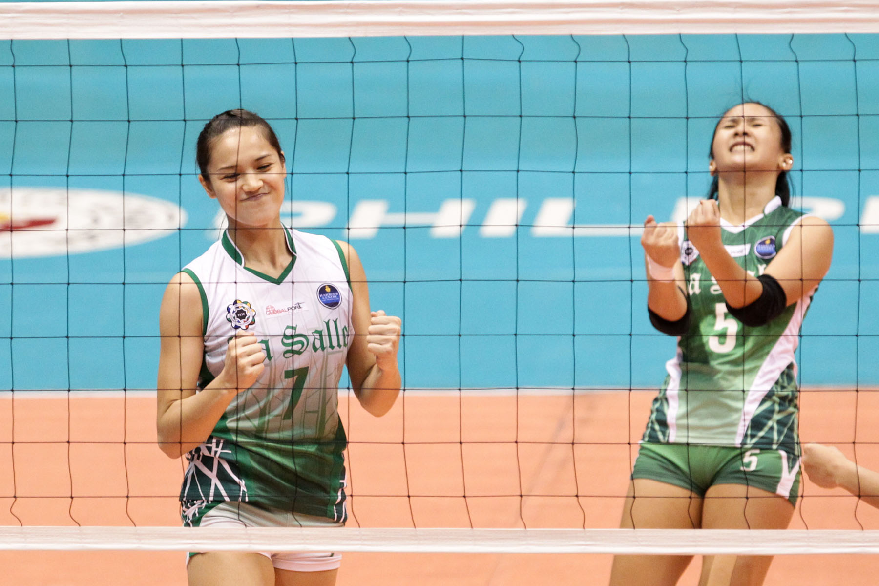 La Salle UAAP Girls Volleyball Players