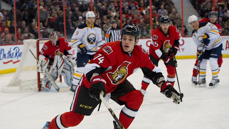 NHL: Buffalo Sabres at Ottawa Senators