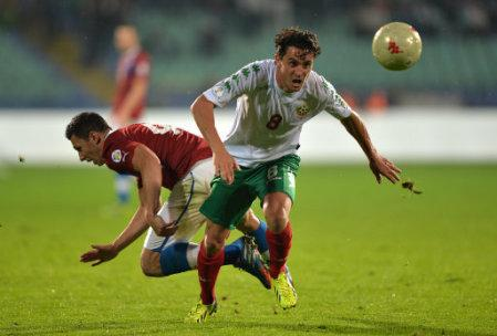 Soccer - FIFA 2014 World Cup - Qualifying - Group B - Bulgaria v Czech Republic - Vasil Levski National Stadium