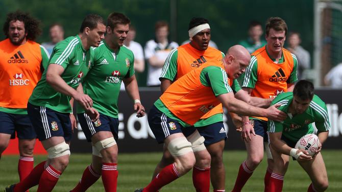 Rugby Union - British and Irish Lions Training - Carton House