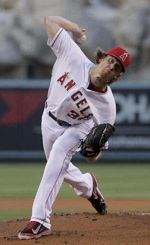 Weaver pitched 2-hitter in Angels' win over Astros