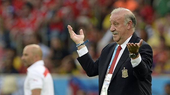 Del Bosque says changes in store for Spain