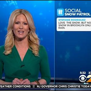 CBS2 Social Snow Patrol Highlights Viewers Braving The Storm