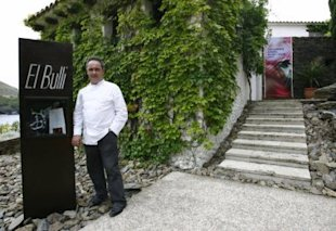 Spanish Chef Ferran Adria posing in front of El Bulli restaurant in Roses, northern Spain. (Photo: AFP, Relax News)
