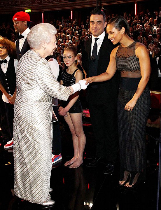 Queen Elizabeth, Alicia Keys