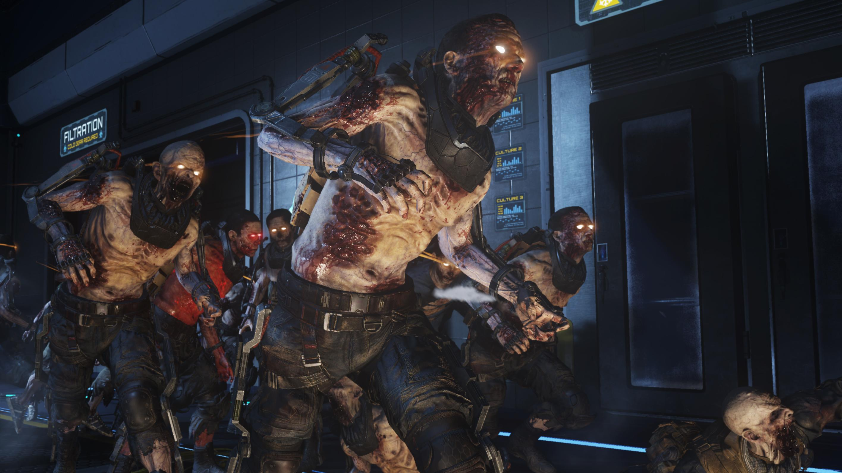 First Call of Duty: Advanced Warfare DLC Out Now--Adds Zombies, Guns, and John Malkovich