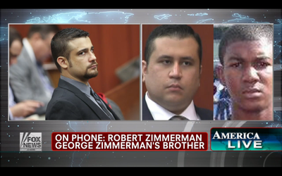 Fox Tried Seven Times to Get the Brother of Zimmerman to Criticize Obama (It Didn't Work)