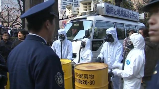 Ahead of Fukushima anniversary, thousands protest Japan's nuclear power policies