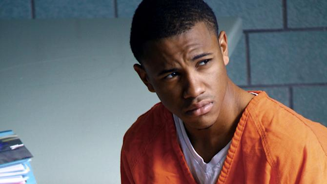 """This film image released by IFC Films shows Tequan Richmond as Lee Boyd Malvo in """"Blue Caprice."""" (AP Photo/IFC Films)"""