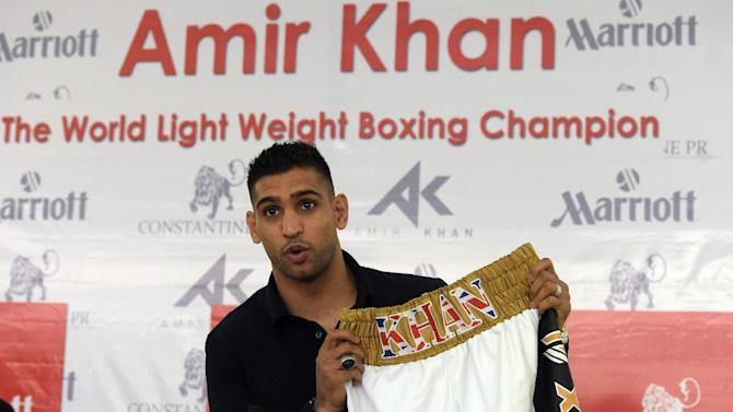 Boxing - Khan open to September Mayweather bout