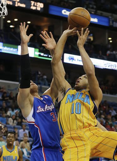 Griffin, Paul lead Clippers past Hornets, 96-93