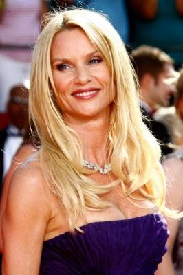'Desperate Housewives' star Nicollette Sheridan at the Emmys  -- Getty Images