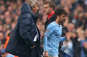 Silva to undergo scan on ankle injury after being stretchered off against West Brom