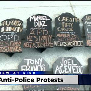 California Capitol Protest Highlights Deaths At Hands Of Law Enforcement
