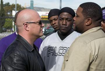 Michael Chiklis and Anthony Anderson FX's The Shield