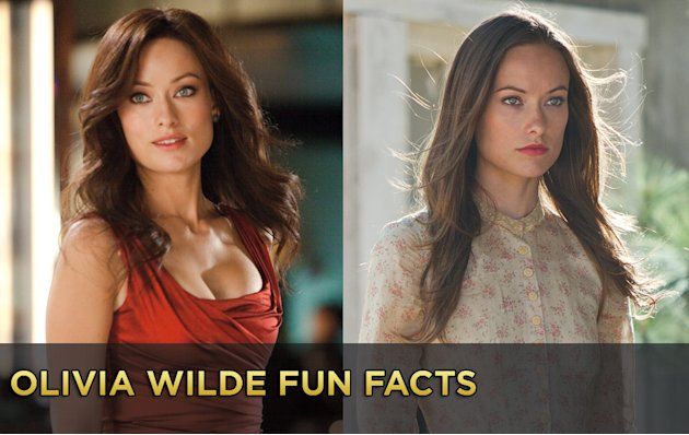 Olivia Wilde Fun Facts gallery Title Card