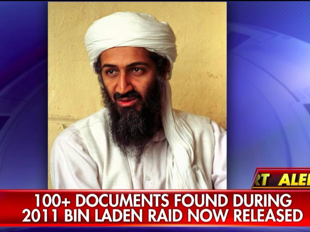 A retired Army officer says the bin Laden documents are meant to distract the public from ISIS