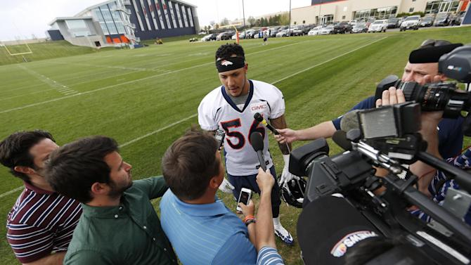 Broncos 1st-round pick Shane Ray signs contract