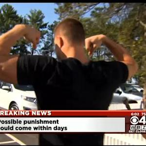 Gronk Flexes When Asked About DeflateGate