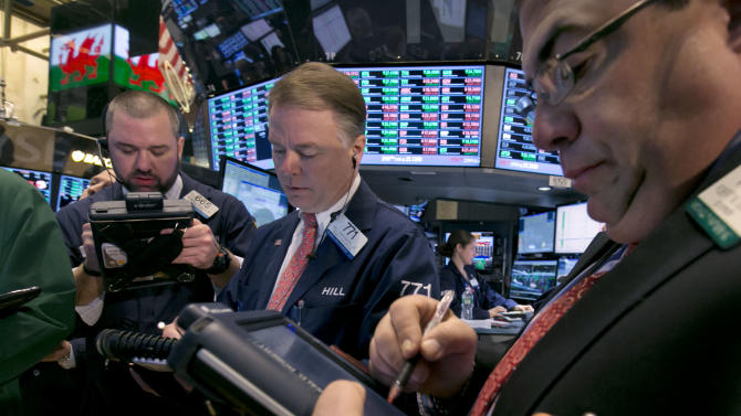 US stocks end mostly higher after a late stumble