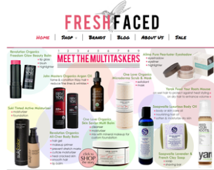 Fresh Faced: New Online Canadian Beauty Store  