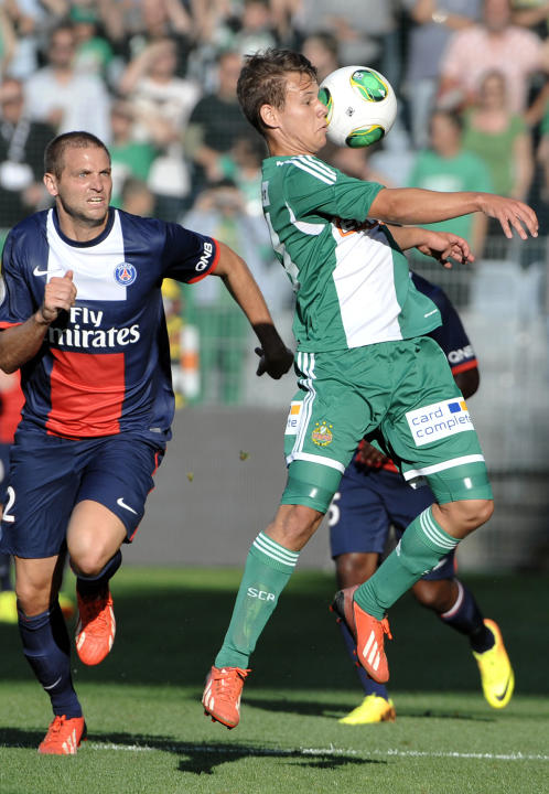 Austria Rapid Paris St. Germain Soccer