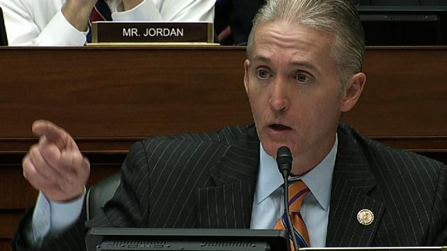 """Gowdy: Sept. 12 email said Benghazi strike was """"affiliated with Islamic terrorists"""""""