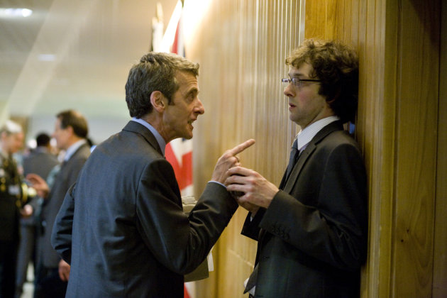The term 'omnishambles' was first used by TV's Malcolm Tucker, seen here in 2009's 'In The Loop'