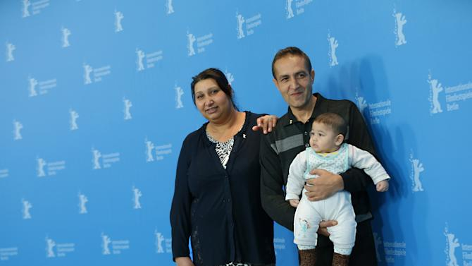 Roma couple recreate own struggle in Berlin film