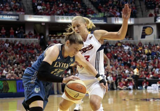 Fever rout Lynx 76-59 in Game 3 of WNBA finals