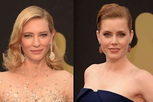 Cate Blanchett and Amy Adams, tattoo buddies