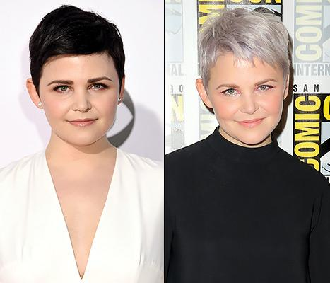 Ginnifer Goodwin Debuts Frosted Lavender Hair Color at Comic-Con: See ...