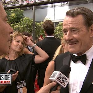 Jim Moret Dishes With Bryan Cranston and More At Emmys