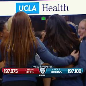 Recap: No. 5 UCLA gymnastics edges No. 7 Utah on the final routine
